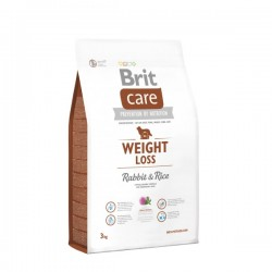 Brit Care weight Loss Rabbit and Rice, 1kg (sveriamas)