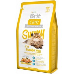 Brit Care Cat Sunny I've Beautiful Hair s.m. katėms/400g