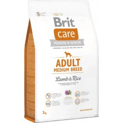 BRIT CARE Adult Medium Breed Lamb & Rice/1 kg