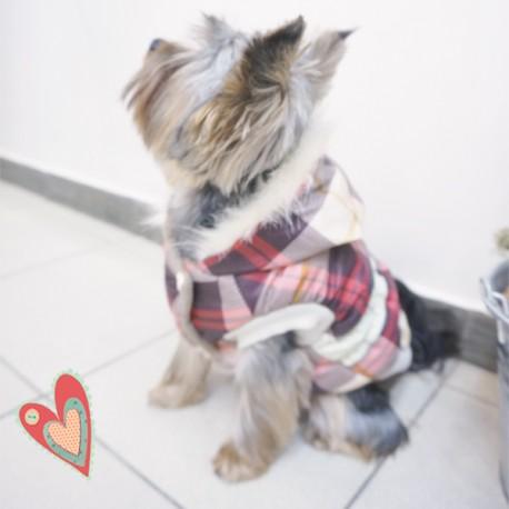 Šilta žieminė striukė šuniukui