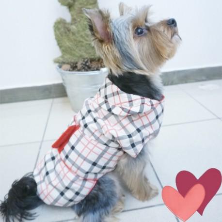 Apsiaustas nuo lietaus šuniukui