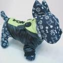 Žaisminga vėjo neperpučiama striukė šuniukui