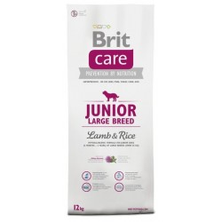 BRIT CARE Junior Large Breed Lamb & Rice/1kg