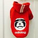 Drabužiai šunims, džemperis šuniui raudonos spalvos